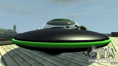 UFO neon ufo green pour GTA 4