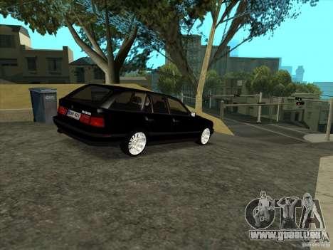 BMW E34 535i Touring pour GTA San Andreas vue de droite