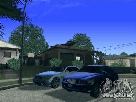 BMW M5 E39 2003 für GTA San Andreas Seitenansicht