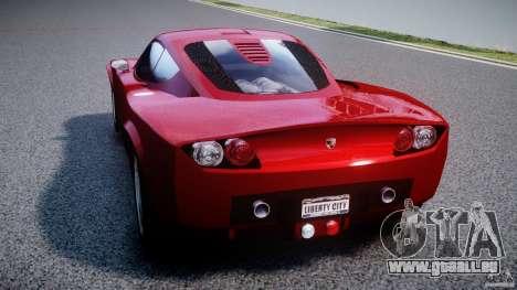 Farboud GTS 2007 pour GTA 4 Vue arrière de la gauche