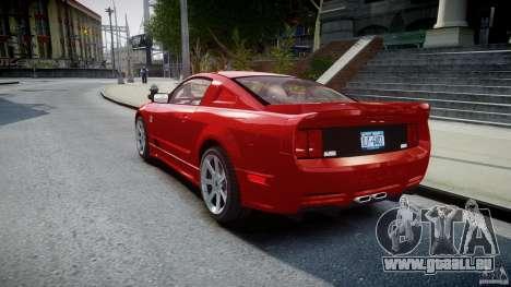 Saleen S281 Extreme - v1.2 pour GTA 4 Vue arrière de la gauche