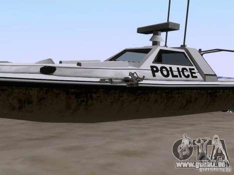 NEW Predator pour GTA San Andreas vue arrière