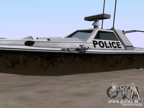 NEW Predator für GTA San Andreas Rückansicht