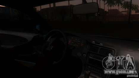 Toyota MR2 Drift für GTA San Andreas Seitenansicht