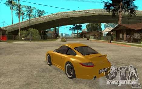 Porsche 911 Sport Classic für GTA San Andreas zurück linke Ansicht