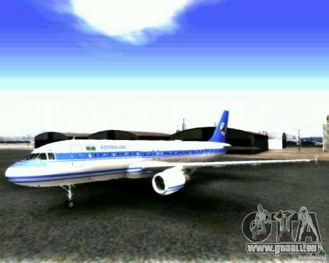 Airbus A-320 Azerbaijan Airlines pour GTA San Andreas