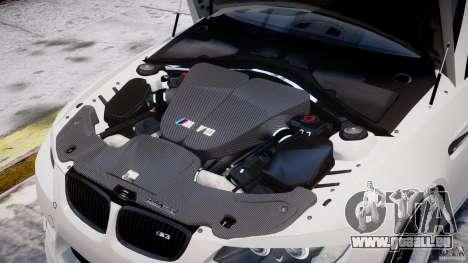 BMW M3 Hamann E92 pour GTA 4 Salon