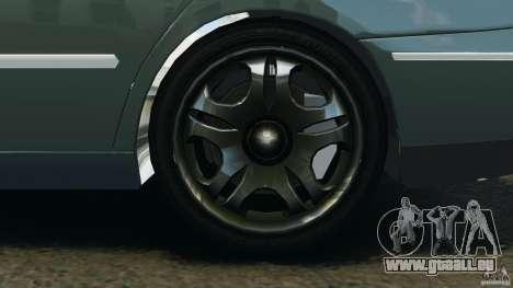 Hyundai Azera pour GTA 4 Vue arrière