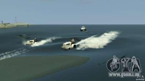 Airtug boat für GTA 4 Seitenansicht