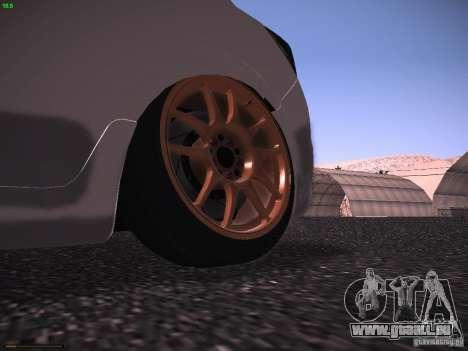 Vauxhall Astra VXR Tuned pour GTA San Andreas vue de droite