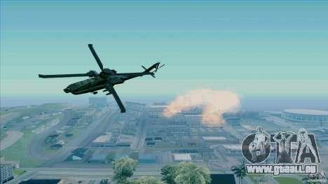 Piège à chaleur pour chasseur pour GTA San Andreas