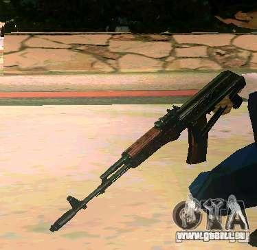 Weapon Pack v 5.0 für GTA San Andreas her Screenshot