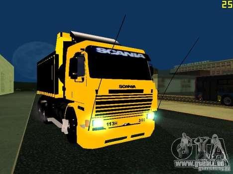Scania 113H pour GTA San Andreas vue arrière