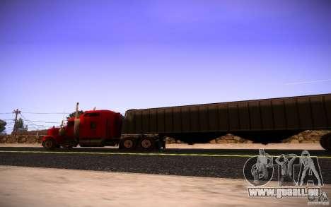 Kenworth W 900L pour GTA San Andreas vue de côté