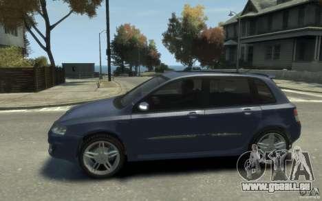 Fiat Stilo Sporting 2009 pour GTA 4 est une gauche