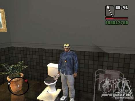 Brosse de toilette pour GTA San Andreas quatrième écran