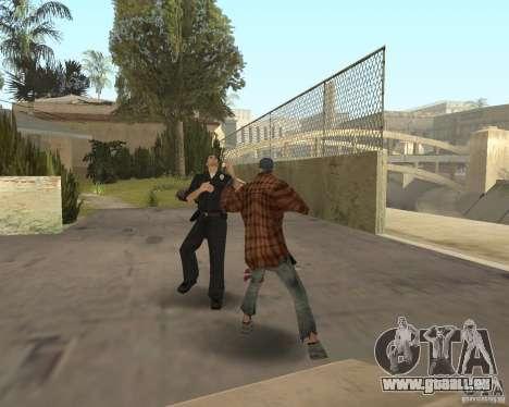 Clochards fous pour GTA San Andreas troisième écran