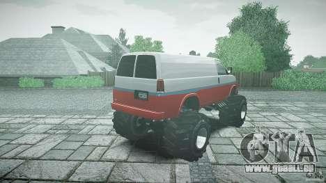 MEGA Speedo v0.9 für GTA 4 Seitenansicht