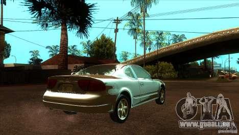 Oldsmobile Alero 2003 für GTA San Andreas rechten Ansicht