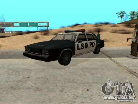 Tahoma Police pour GTA San Andreas