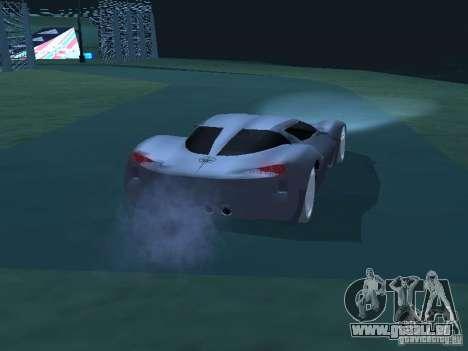 Chevrolet Corvette Stingray für GTA San Andreas rechten Ansicht