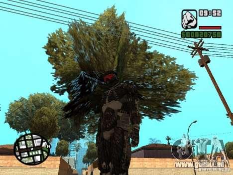 Crysis Nano Suit pour GTA San Andreas deuxième écran
