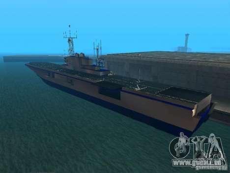 Flugzeugträger für GTA San Andreas zweiten Screenshot