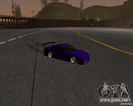 Nissan Silvia S13 Nismo tuned pour GTA San Andreas vue intérieure