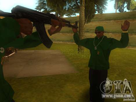 AK-47 für GTA San Andreas her Screenshot