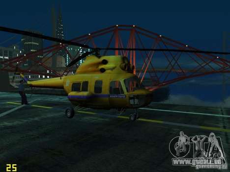 Mil Mi-2 Polizei für GTA San Andreas