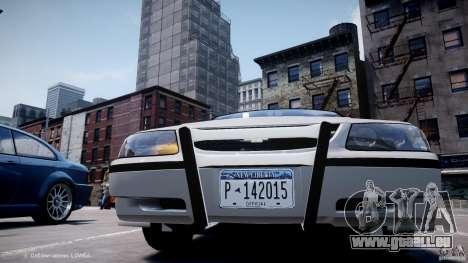 Chevrolet Impala Unmarked Police 2003 v1.0 [ELS] pour GTA 4 est une vue de dessous