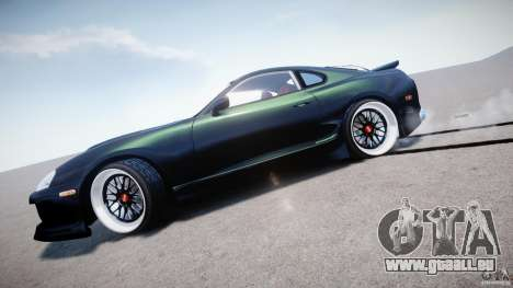 Toyota Supra JZA80 pour GTA 4 vue de dessus