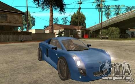 Mastretta MXT v1.1 für GTA San Andreas Rückansicht