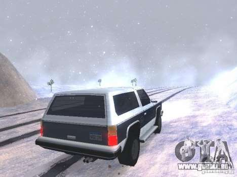 Snow MOD HQ V2.0 für GTA San Andreas siebten Screenshot