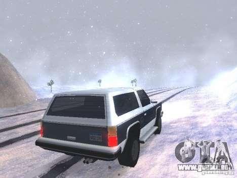 Snow MOD HQ V2.0 pour GTA San Andreas septième écran