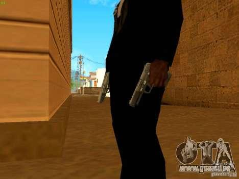 Five-Seven MW3 pour GTA San Andreas troisième écran