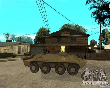 L'APC de t. s. a. l. k. e. R pour GTA San Andreas vue de droite