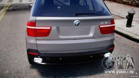BMW X5 xDrive 4.8i 2009 v1.1 pour GTA 4 vue de dessus