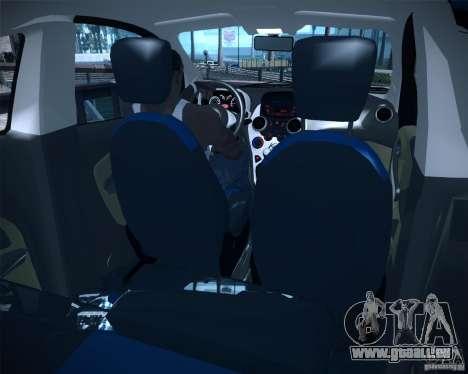 Ford Ka 2011 pour GTA San Andreas sur la vue arrière gauche