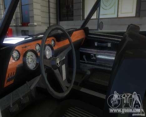 Ford Mustang Tokyo Drift für GTA 4 Rückansicht