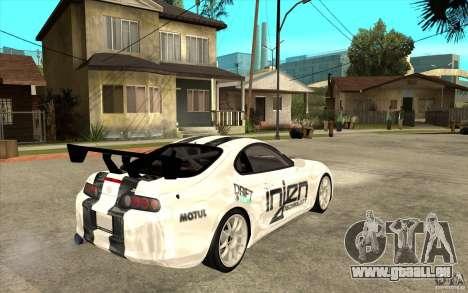 Toyota Supra MK-4 für GTA San Andreas rechten Ansicht