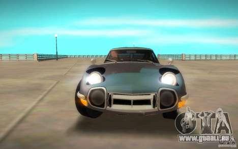 Toyota 2000GT 1969 pour GTA San Andreas vue de droite