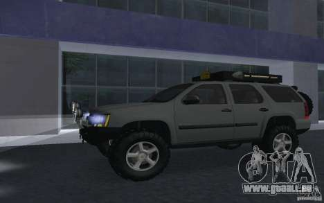 Chevrolet Tahoe für GTA San Andreas zurück linke Ansicht