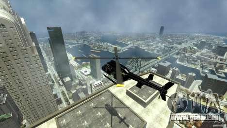Helicopter Generation-GTA pour GTA 4 est une vue de l'intérieur