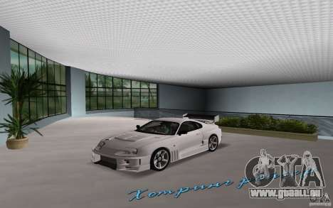 Toyota Supra Chargespeed pour GTA Vice City