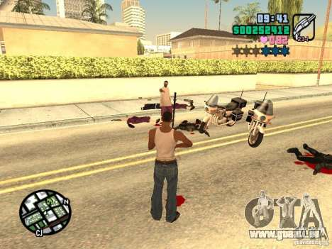 Vice City Hud für GTA San Andreas sechsten Screenshot