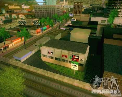 Nouvelles textures, Hôpital général de tous les  pour GTA San Andreas deuxième écran