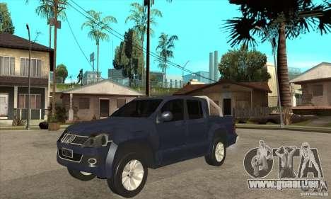 Volkswagen Amarok 2010 pour GTA San Andreas