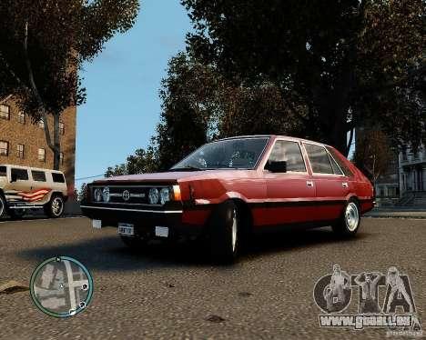 FSO Polonez 1500 Borewicz pour GTA 4 Vue arrière de la gauche