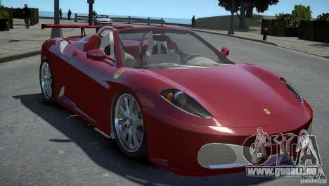 Ferrari F430 Spider pour GTA 4 est un droit
